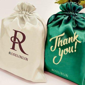 Satin Drawstring Gift Bags