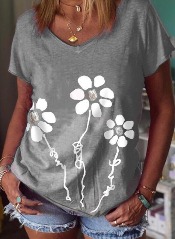 Short Sleeve Floral Shirts & ...