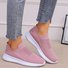 Pi Clue Flat Heel Fabric Sneakers